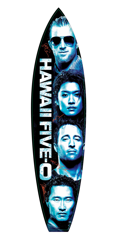 Hawaii Five-0 surfboard