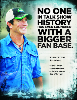 Jeff Probst Launch Print Ad